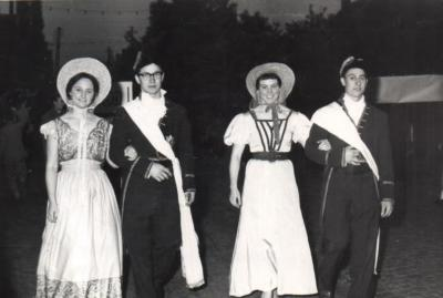 Braderie 1960 - Historische stoet