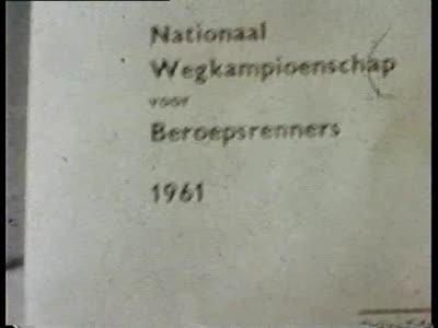 Film: 'Belgisch Kampioenschap Wielrennen', Ertvelde 1961