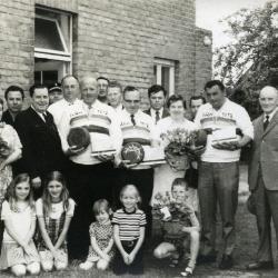 Wereldkampioenen krulbol, 1972, Adegem
