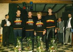 Huldiging Kampioenen van Belgie krulbol, 1989, Ertvelde