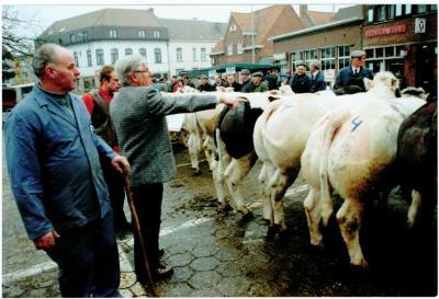 Keurders op de Vette Veemarkt, jaren 1990