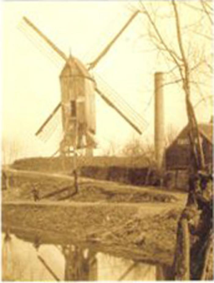 Kuitenbergmolen, Evergem-Belzele