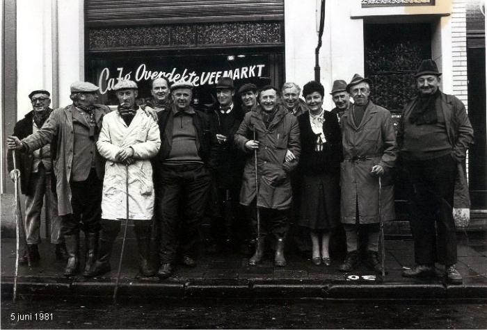Meetjeslanders op veemarkt te Gent