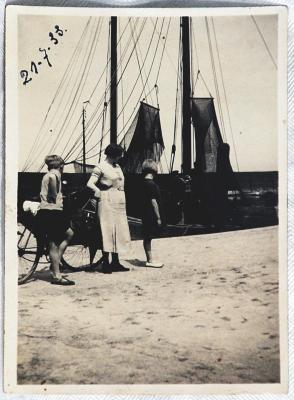 De kade van de Isabellahaven, anno 1933
