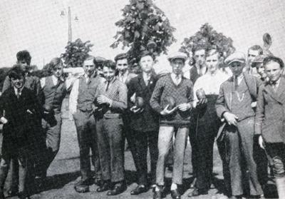 Krulbolders, Zelzate, 1930-1931