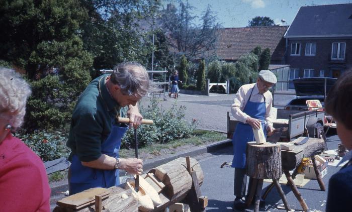 Klompenmakersfamilie uit Lembeke
