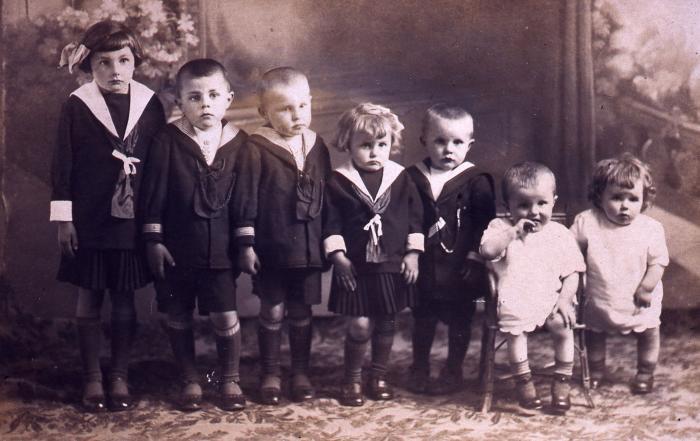 Familieportret Familie Standaert