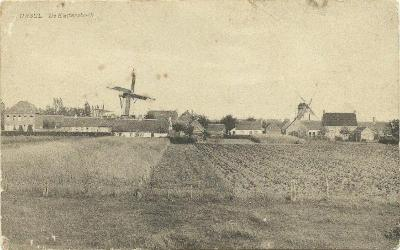 Oud zicht op de Katerhoek, Ursel