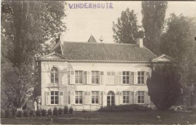 Kasteel Ten Velde, Vinderhoute