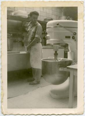 Bakker Boudewijn Van de Veire, Eeklo, ca. 1967