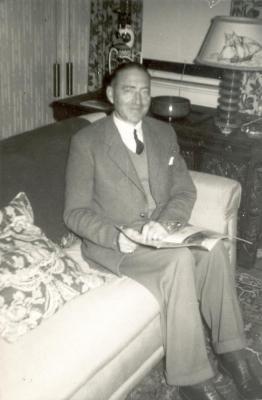 Portret van Godfrey Enke, 1960