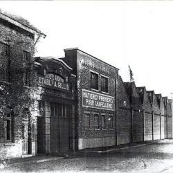 Vellenfabriek Arthur Gillis, Eeklo, ca 1930.