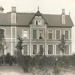 Villa Oaklands omstreeks 1898