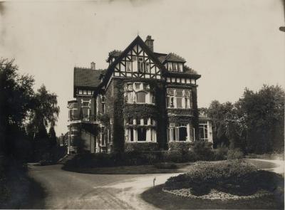 Voorzijde Villa Pinehurst, jaren 1920
