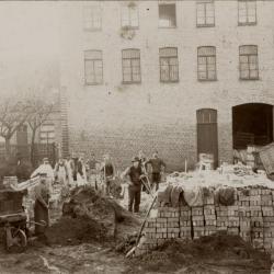 Bouwwerken haarsnijderijfabriek Enke, Eeklo, 1896