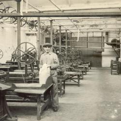 Alfons De Wispelaere en het productieproces haarsnijderij