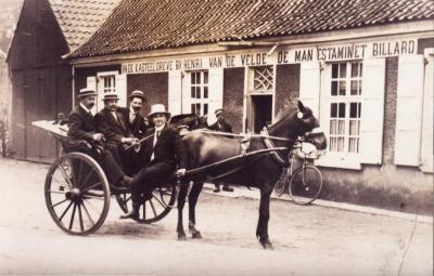 Café De Kasteeldreef bij Henri Van de Velde