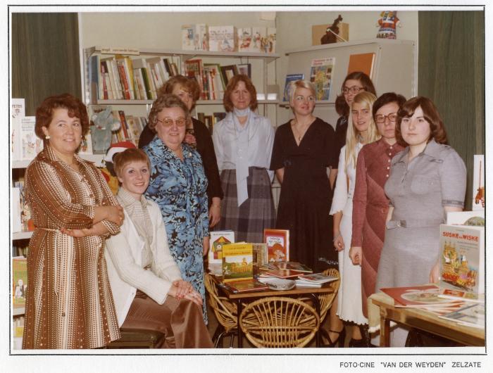 Bibliotheekmedewerkers GOB Zelzate, 1977