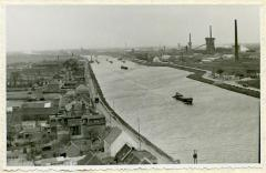 Kanaal Gent-Terneuzen, Zelzate, 1954