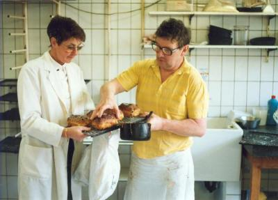 Robert Lampaert, bakker op Boelare
