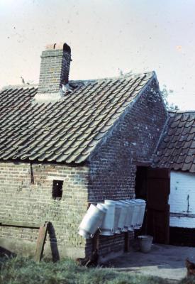 Melkkannen, Waarschoot, jaren 1960