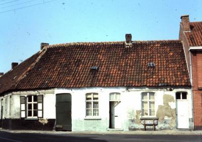 Dorpszicht op Kere, Waarschoot, jaren 1960