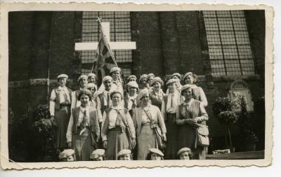 Boerinnenjeugdbond bij Bisschopshulde in Gent