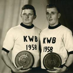 Kampioenen krulbol, Schuyvinck , Tack Robert, 1958