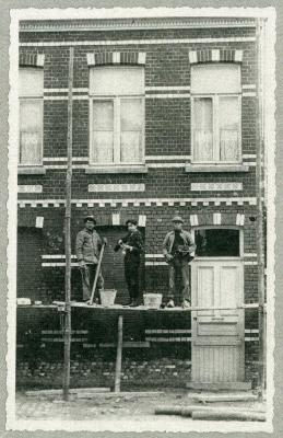 Renovatie huis Knesselare, 1912