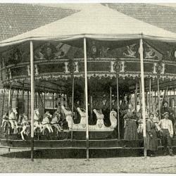 Paardenmolen Pantens, Knesselare Kermis, 1927