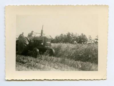 Eerste tractor van de familie Audenaert