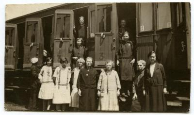 Van Knesselare naar Lourdes, ca. 1920