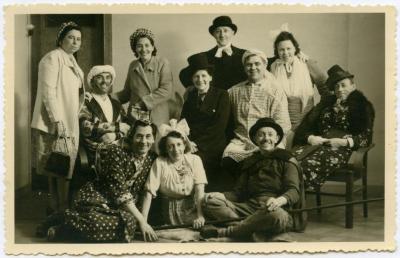 Verkleedpartij, Knesselare, ca. 1950