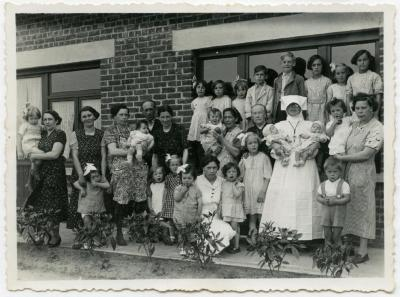 Familie Hooft, Knesselare, 1938