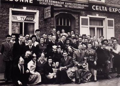 Café De Eendracht bij Karel Cosijn