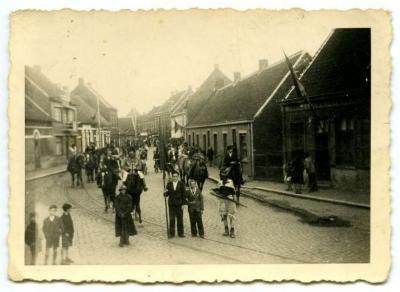 Bevrijdingsstoet Aalter, 1945