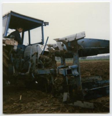 De eerste tractor van de familie Buysse, Evergem