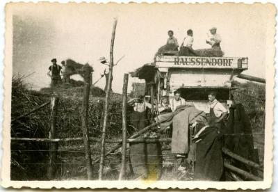 De Raussendorf dorsmachine van de broers Busschaert