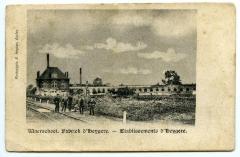 Postkaart Fabriek d'Heygere, Waarshoot