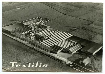 Luchtfoto Textilia, Waarschoot