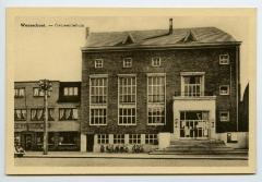 Postkaart Gemeentehuis, Waarschoot