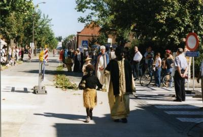 Drie koningen in de processie van Rieme, 2003(II)