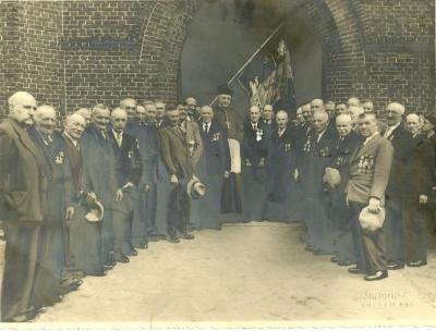 Oud-strijders WOI, Ursel, 1955