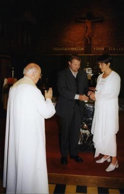 Huwelijk van Sofie Van Eesvelde en Kurt Moens (IV), 1999
