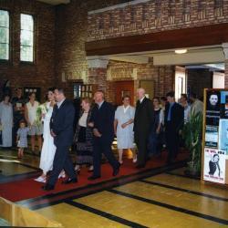 Huwelijk van Sofie Van Eesvelde en Kurt Moens (I), 1999