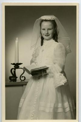 Communiefoto van Marie- Thérèse Heye, 1961