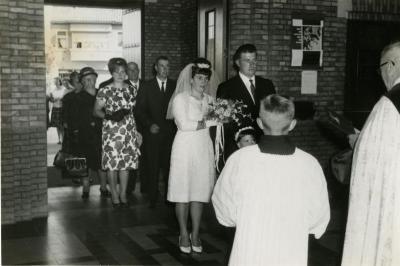 Huwelijk Moens-Boone (II), 1964