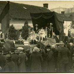 Inhuldigingsstoet voor pastoor Bouuaert, 1928 (VI)