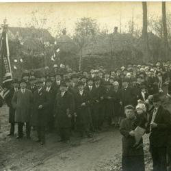 Inhuldigingsstoet voor pastoor Bouuaert, 1928 (IV)