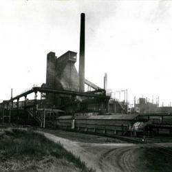 Cokesfabriek, Evergem, 1950-1960
